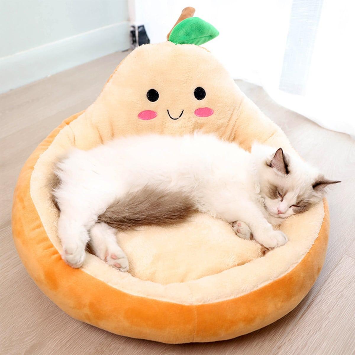 Cartoon Avocado Pet Bed, SHEIN  - buy with discount
