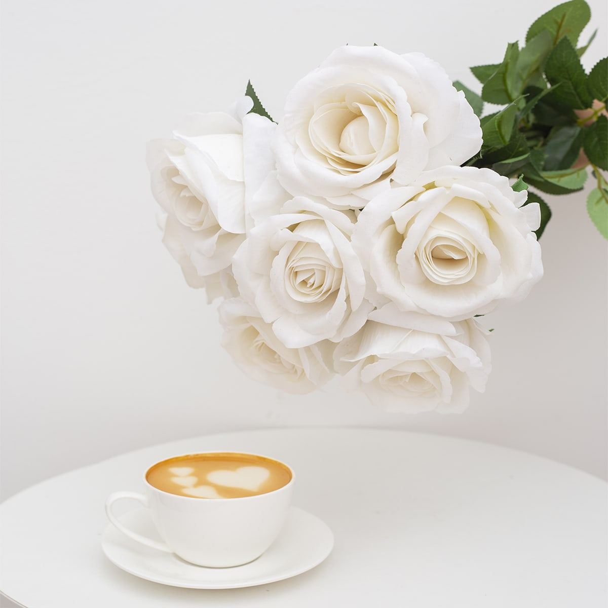1шт Искусственная роза