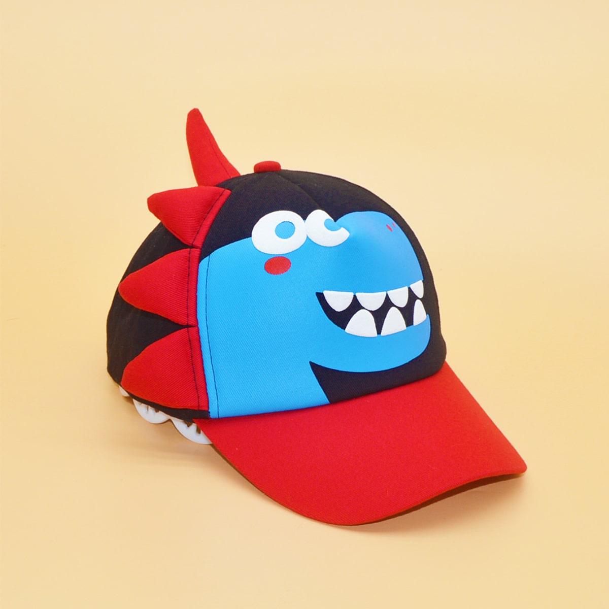 Toddler Kids Dinosaur Decor Baseball Cap, SHEIN  - buy with discount