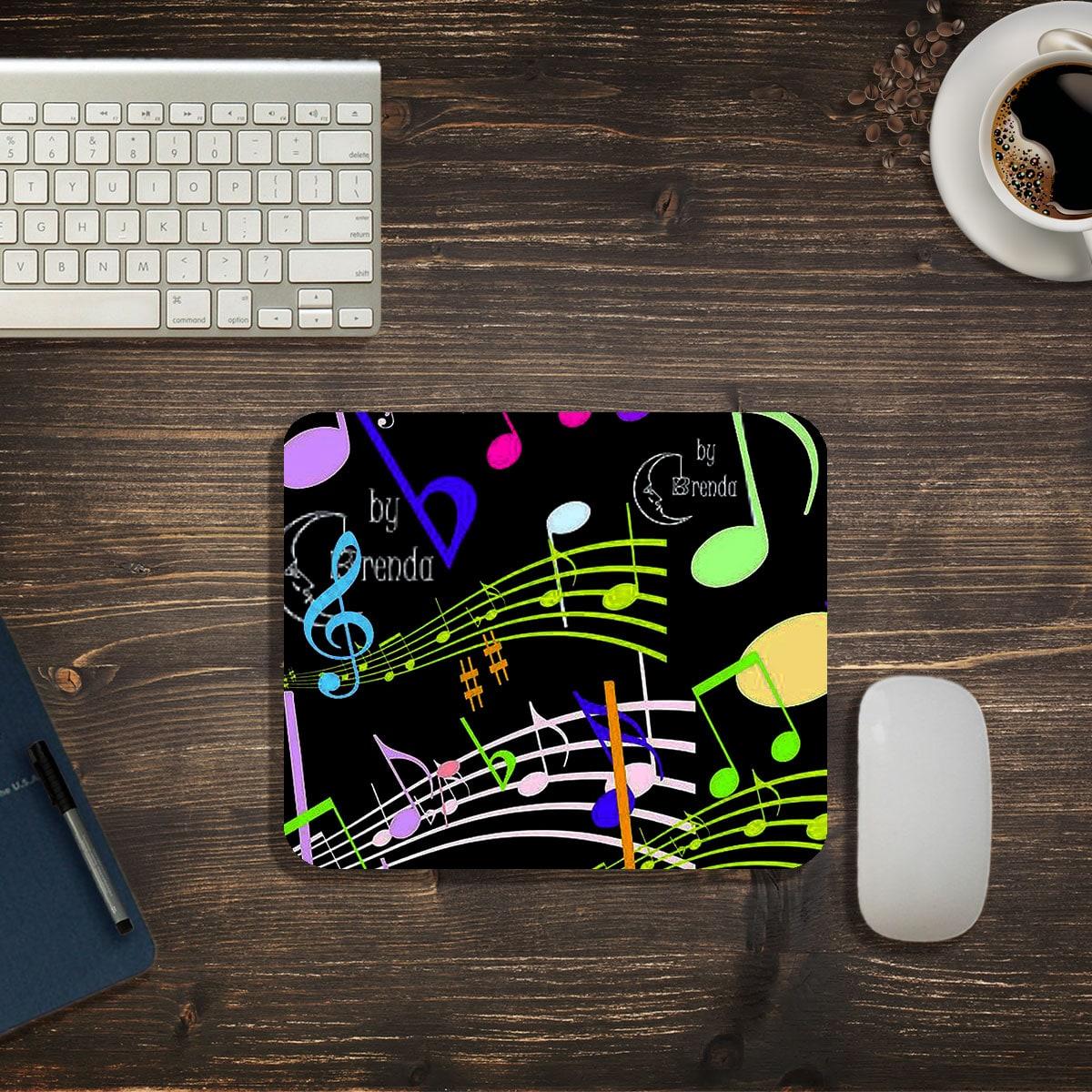 Коврик для мыши музыкальная нота