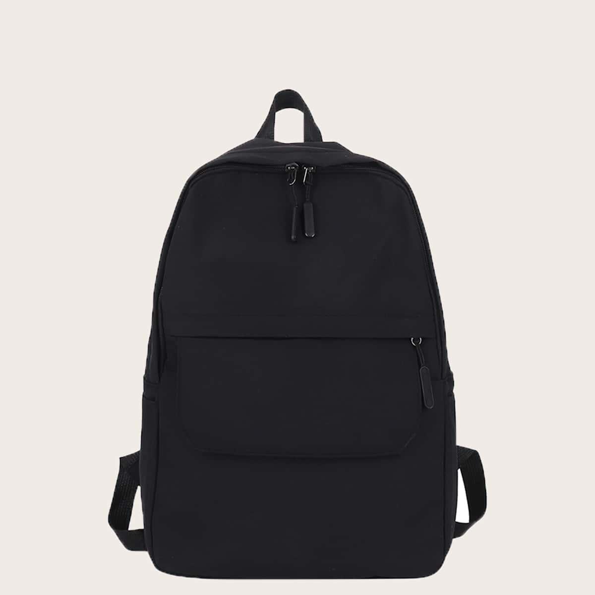 Минималистичный рюкзак большой емкости для мальчиков SheIn sk2108038328186041