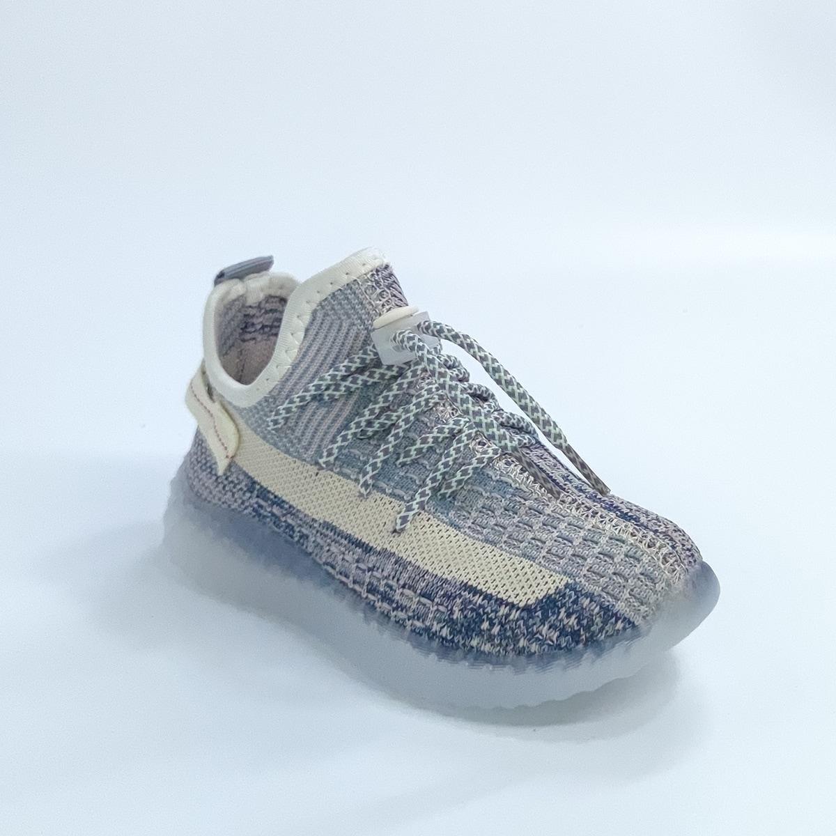 Контрастная трикотажная беговая обувь для мальчиков от SHEIN