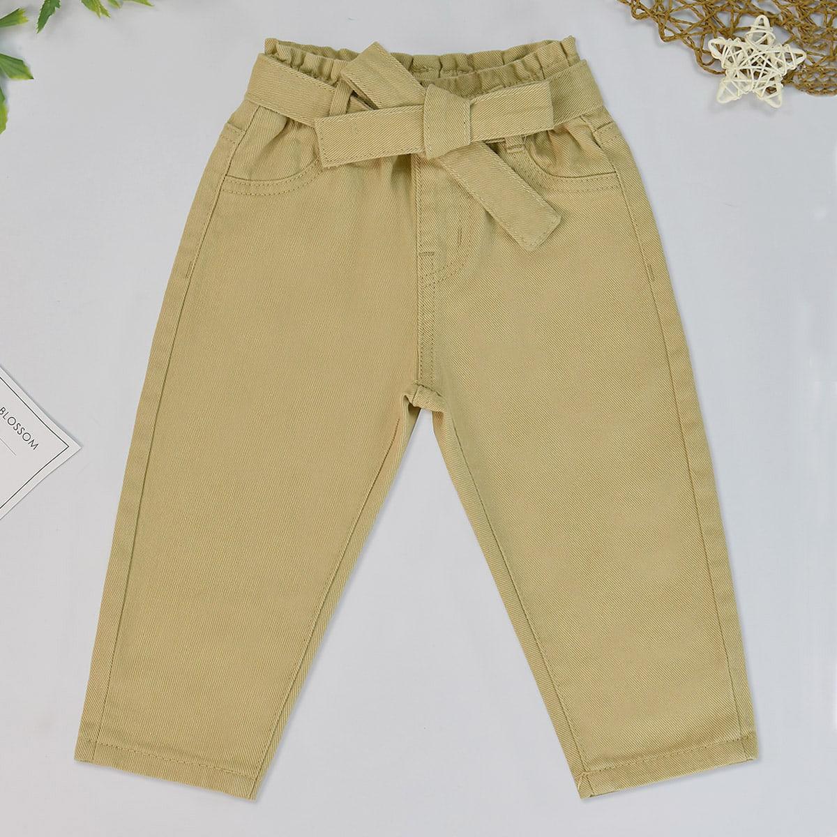 Детские джинсы с необработанным краем от SHEIN