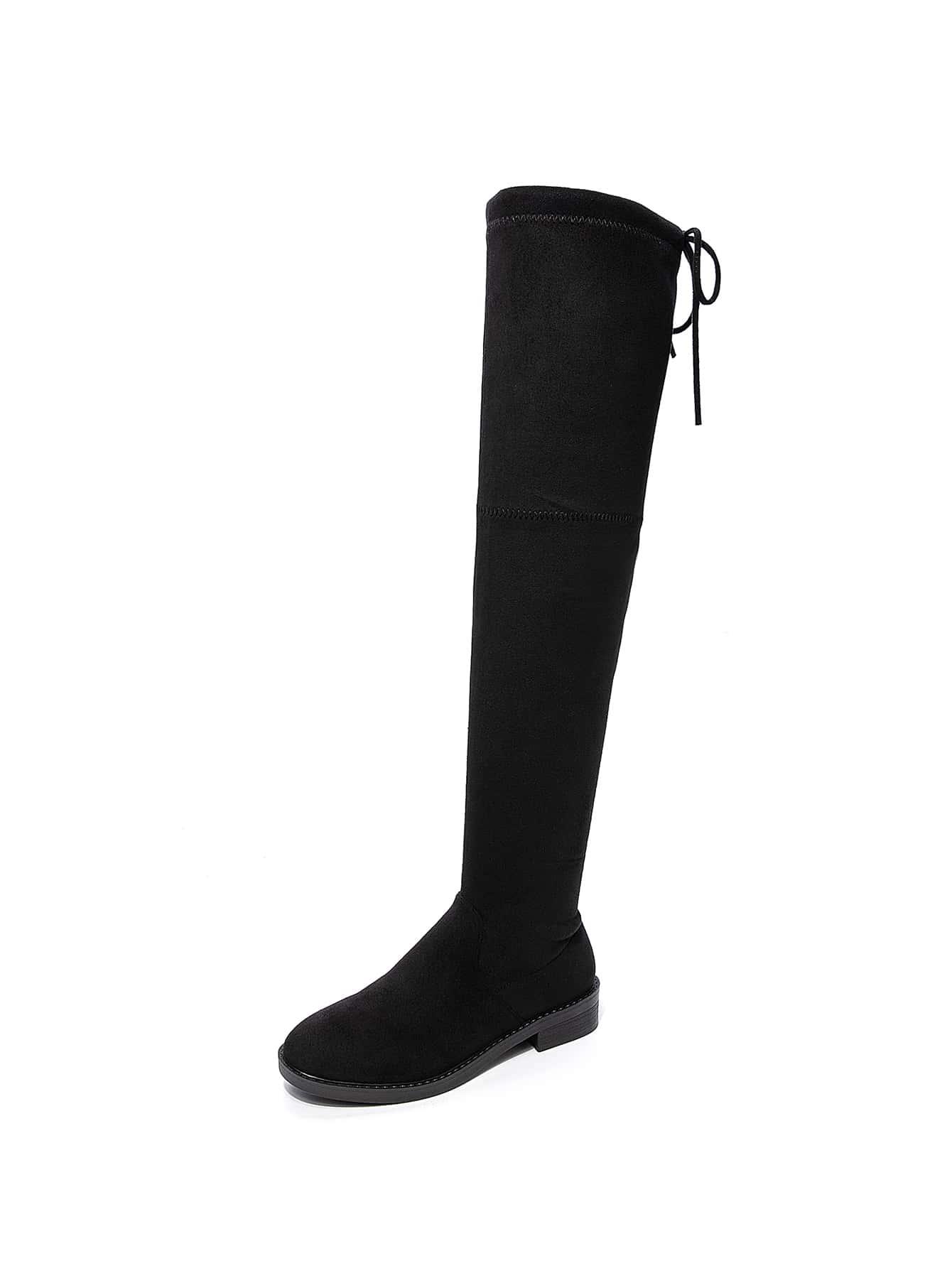 Minimalist Over Knee Boots