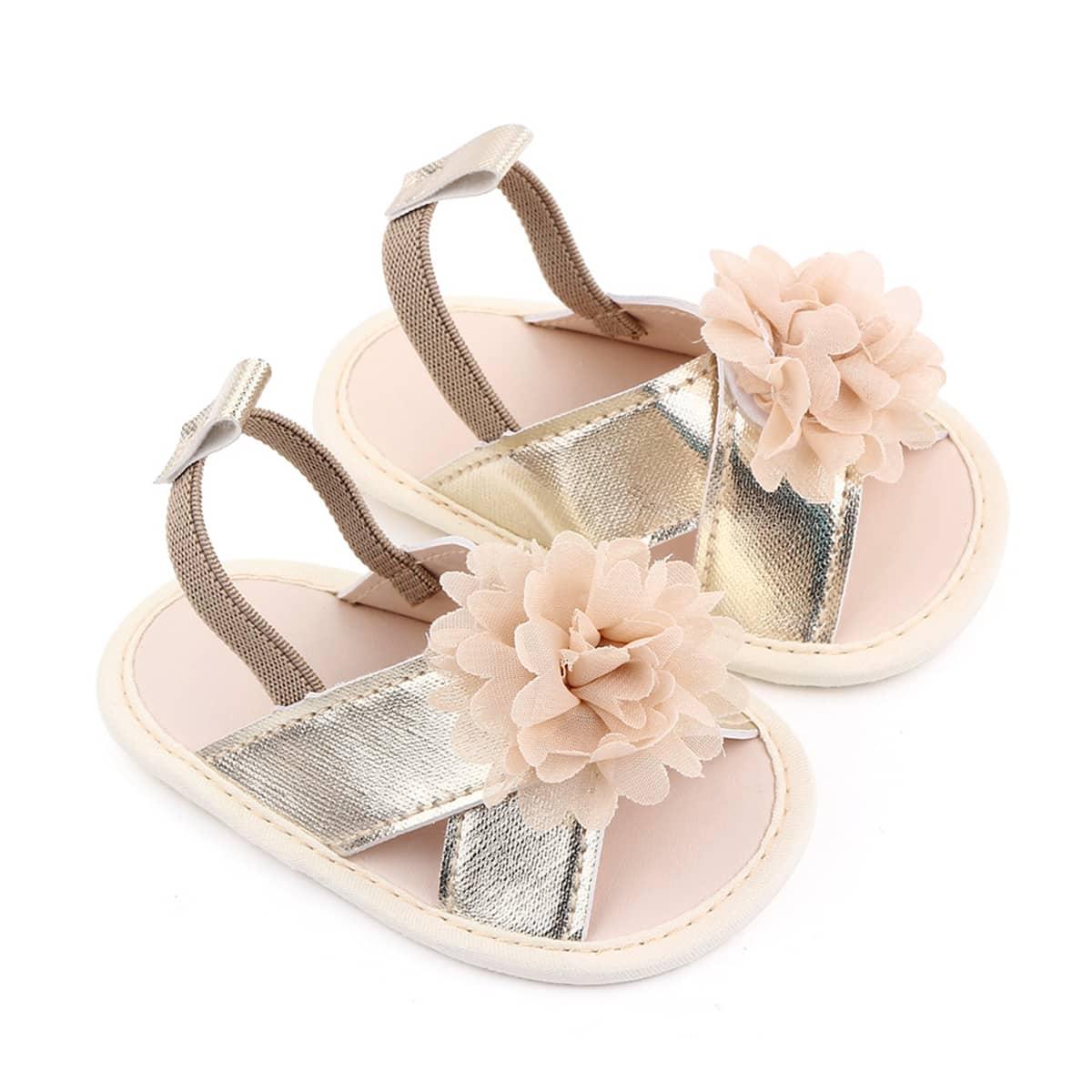 Детские сандалии с аппликацией SheIn sk2108040685876305