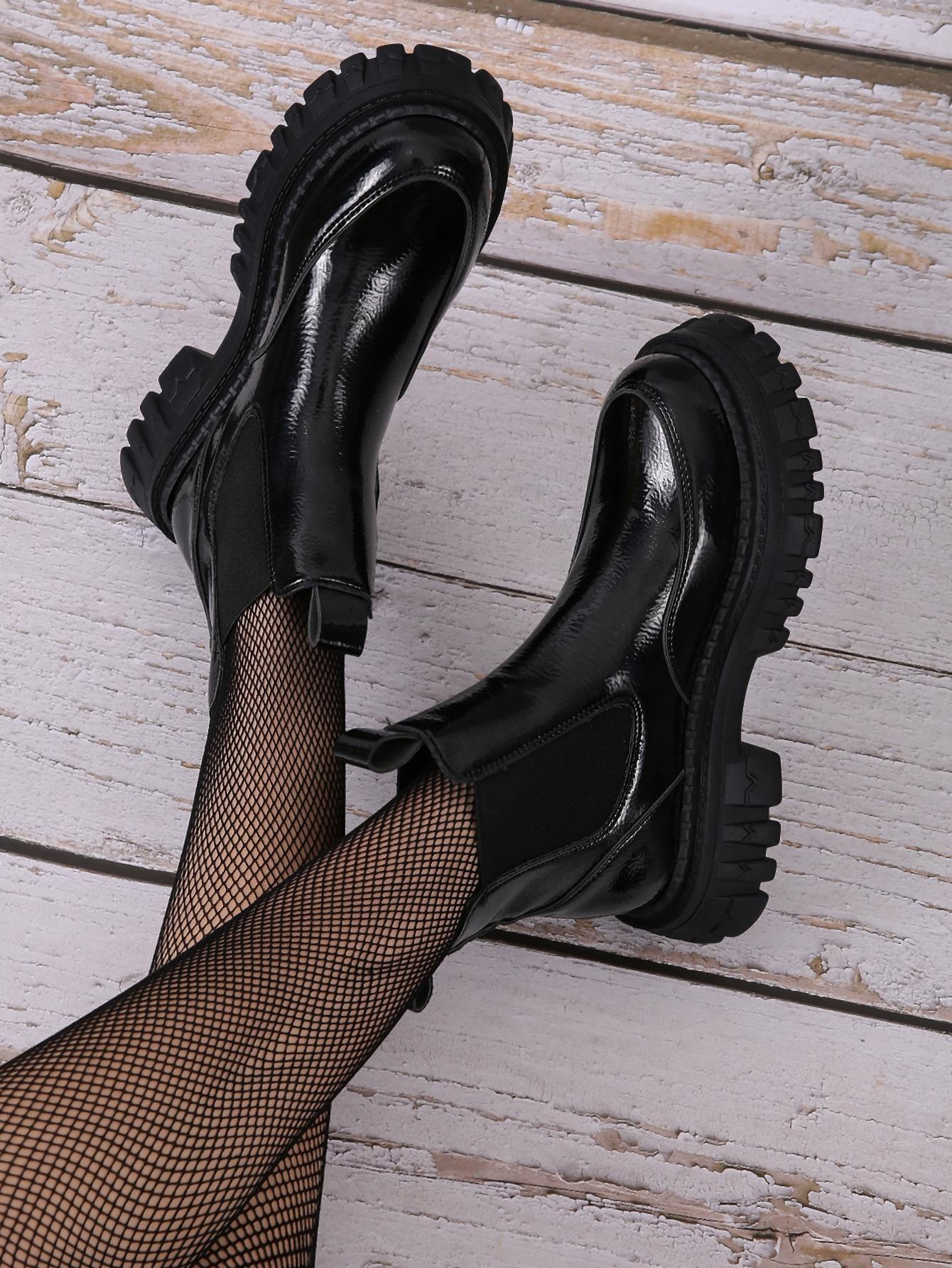 Minimalist Ankle Chelsea Boots