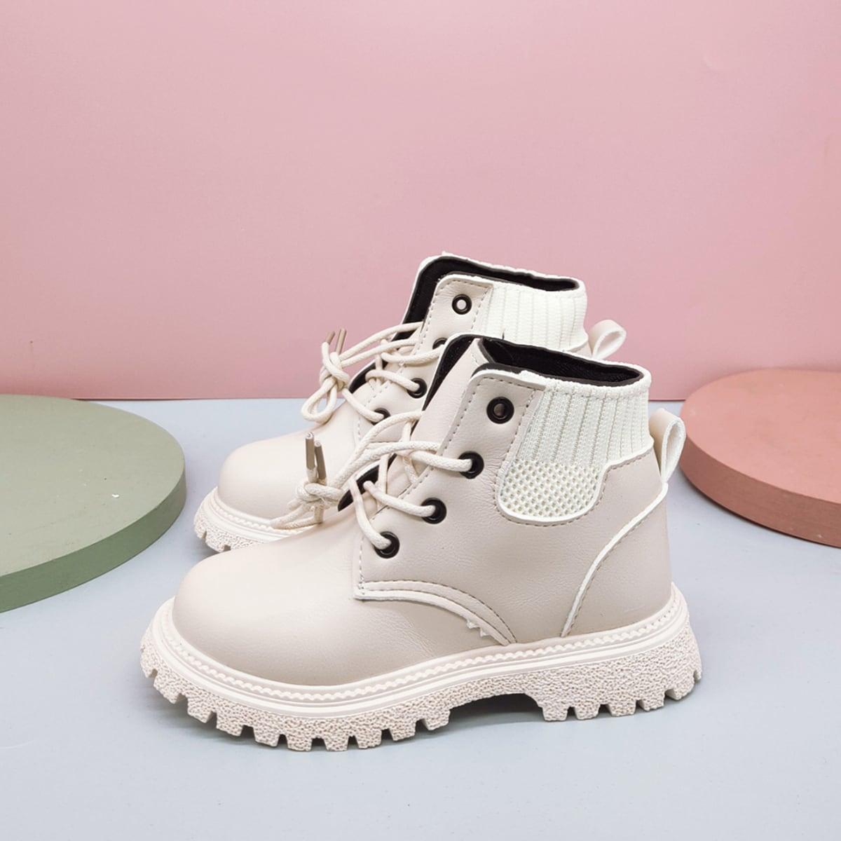 Ботинки на шнурках для мальчиков SheIn sk2108081712493457