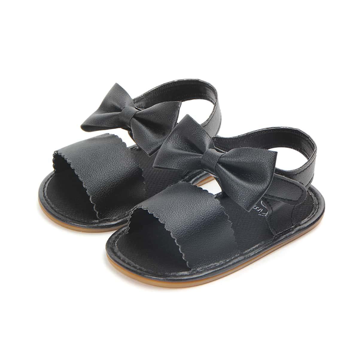 Детские сандалии с ремешком на пятке с бантом SheIn sk2108090647737759