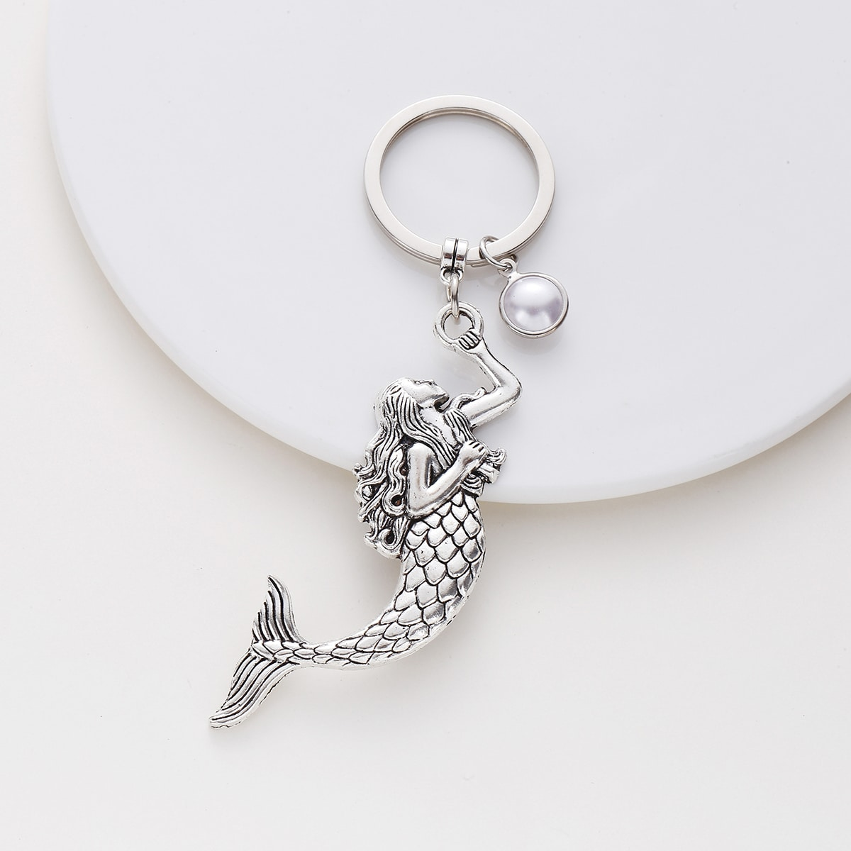 Mermaid Design Keychain, SHEIN  - buy with discount