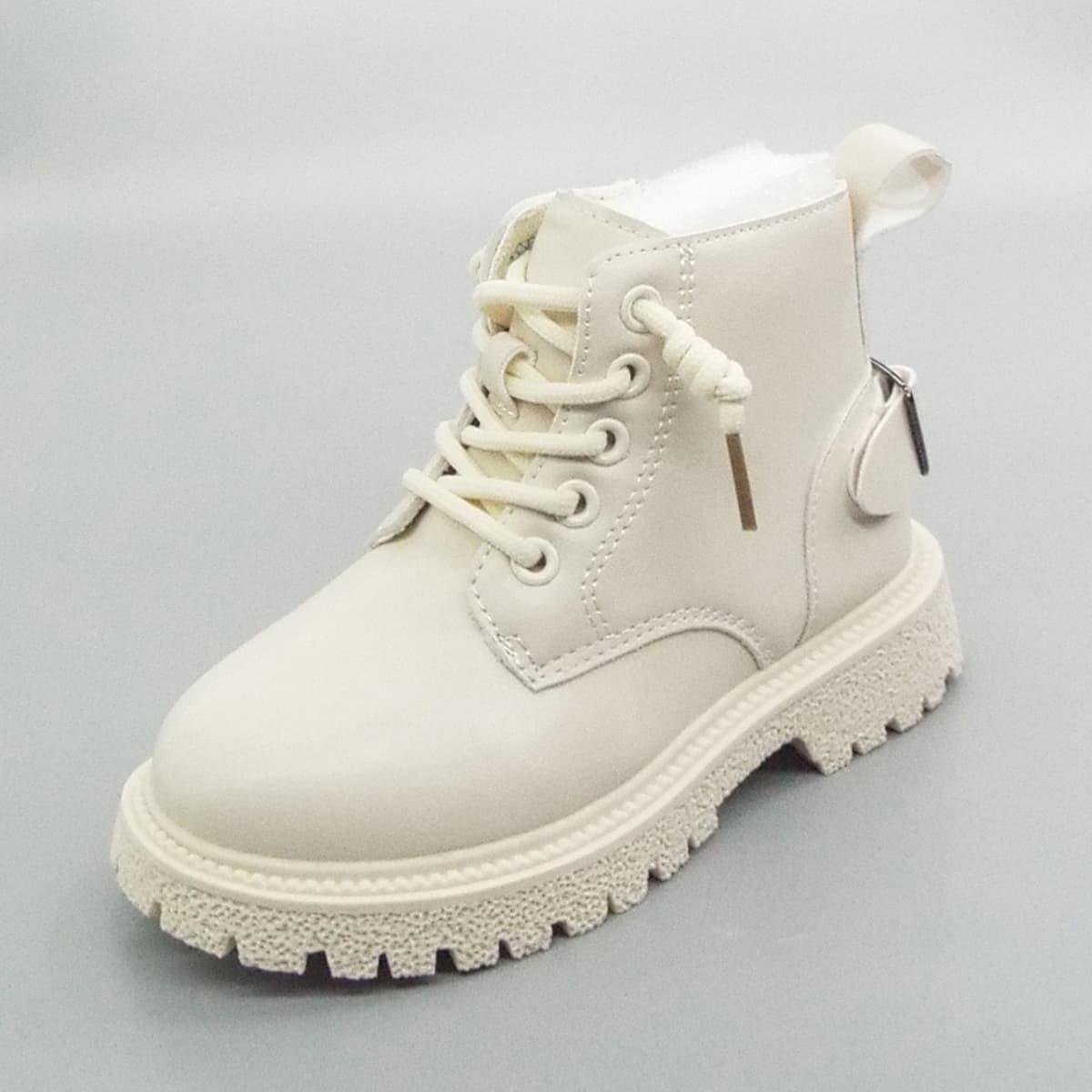 Ботинки для мальчиков с пряжкой SheIn sk2108101833109143