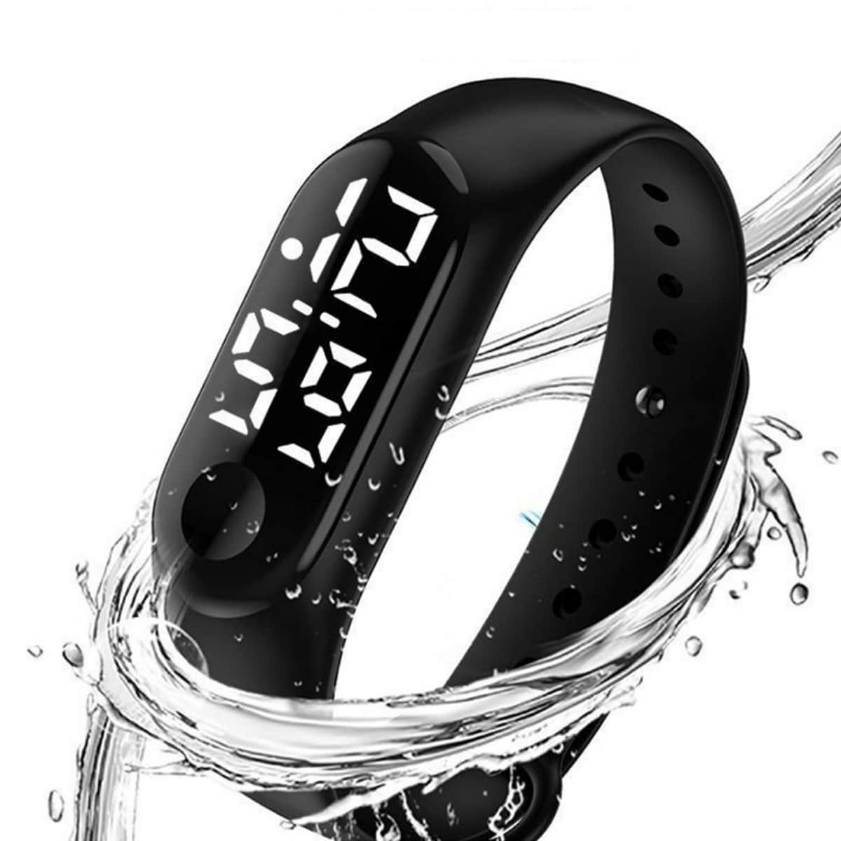 Детские водонепроницаемые электронные часы
