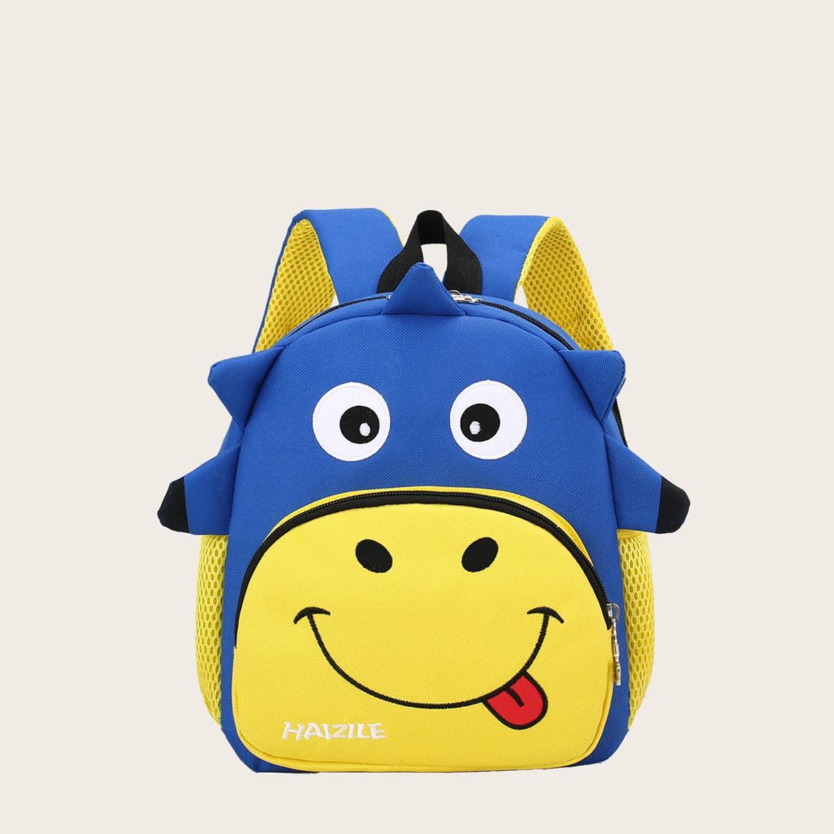 Детская школьная сумка в форме коровы SheIn sk2108118560205514
