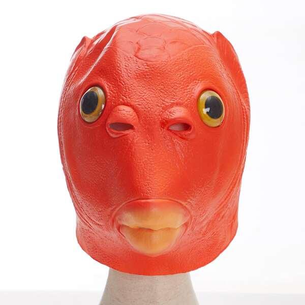 Fish Head Costume, Red