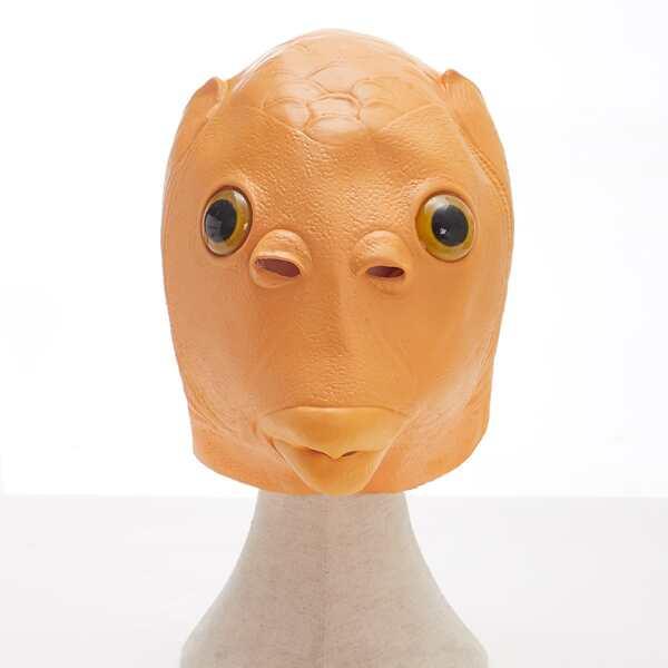 Fish Head Costume, Orange