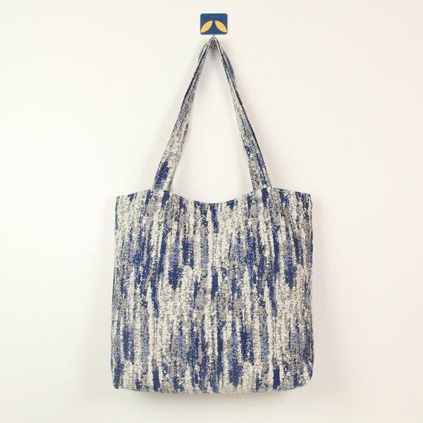 Tie Dye Pattern Shopper Bag, Multicolor