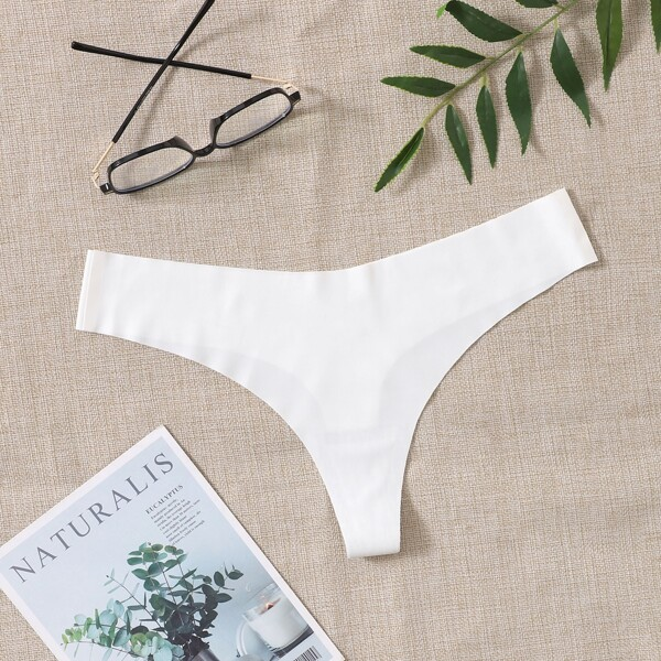 Absorbs Sweat & Breathable Sports Brief, White