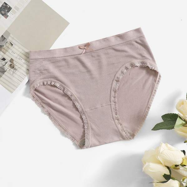 Seamless Quick-Drying Sports Brief, Dusty pink