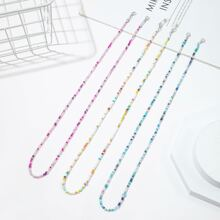 3pcs Beaded Face Mask Chain