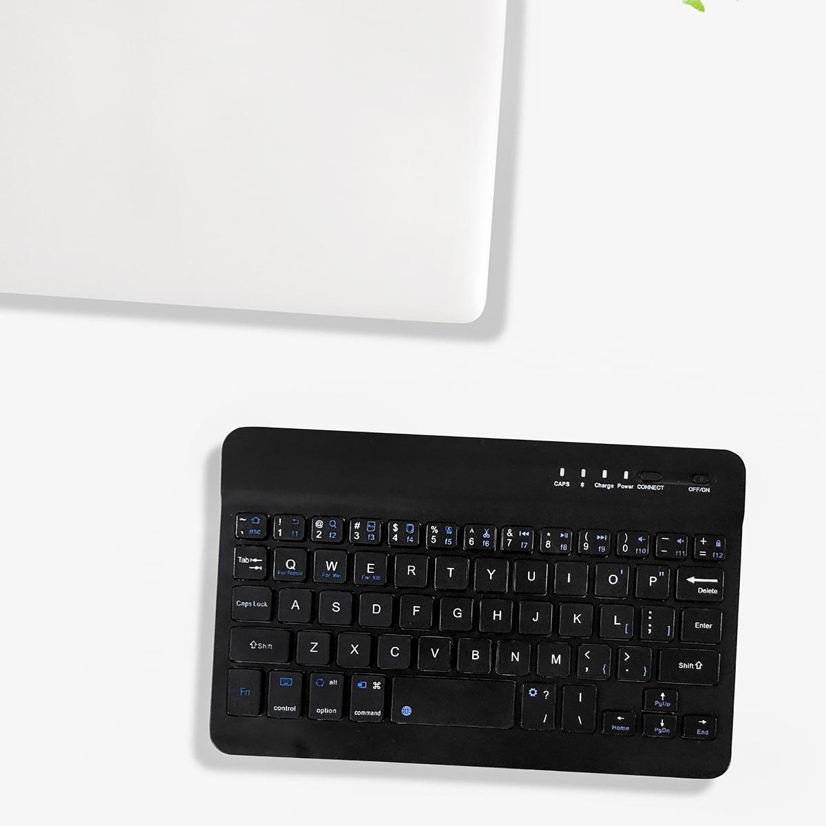 1шт Клавиатура Беспроводной Bluetooth