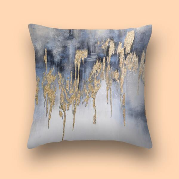 Graphic Print Cushion Cover Without Filler, Multicolor