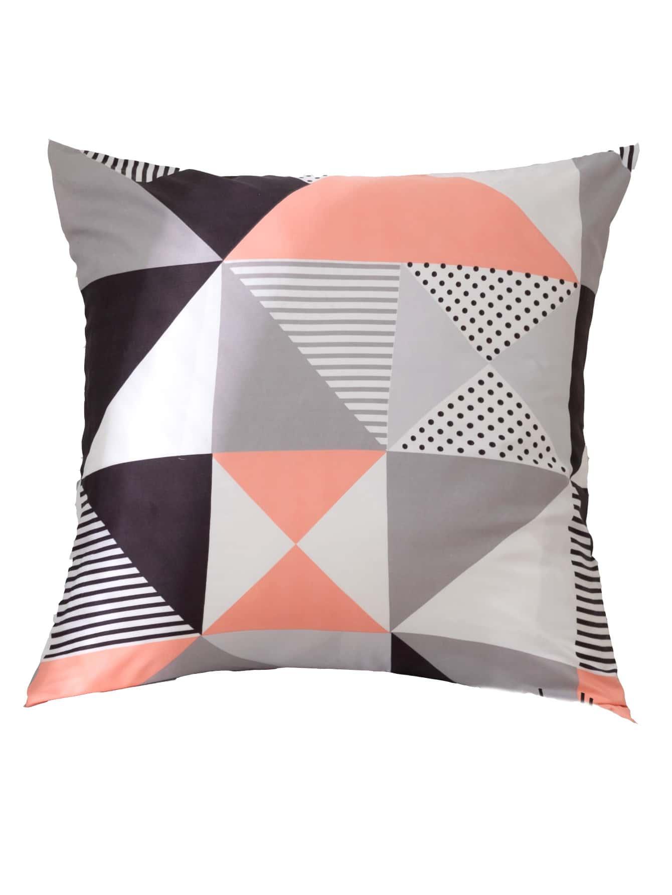 Geometric Pattern Pillowcase Without Filler