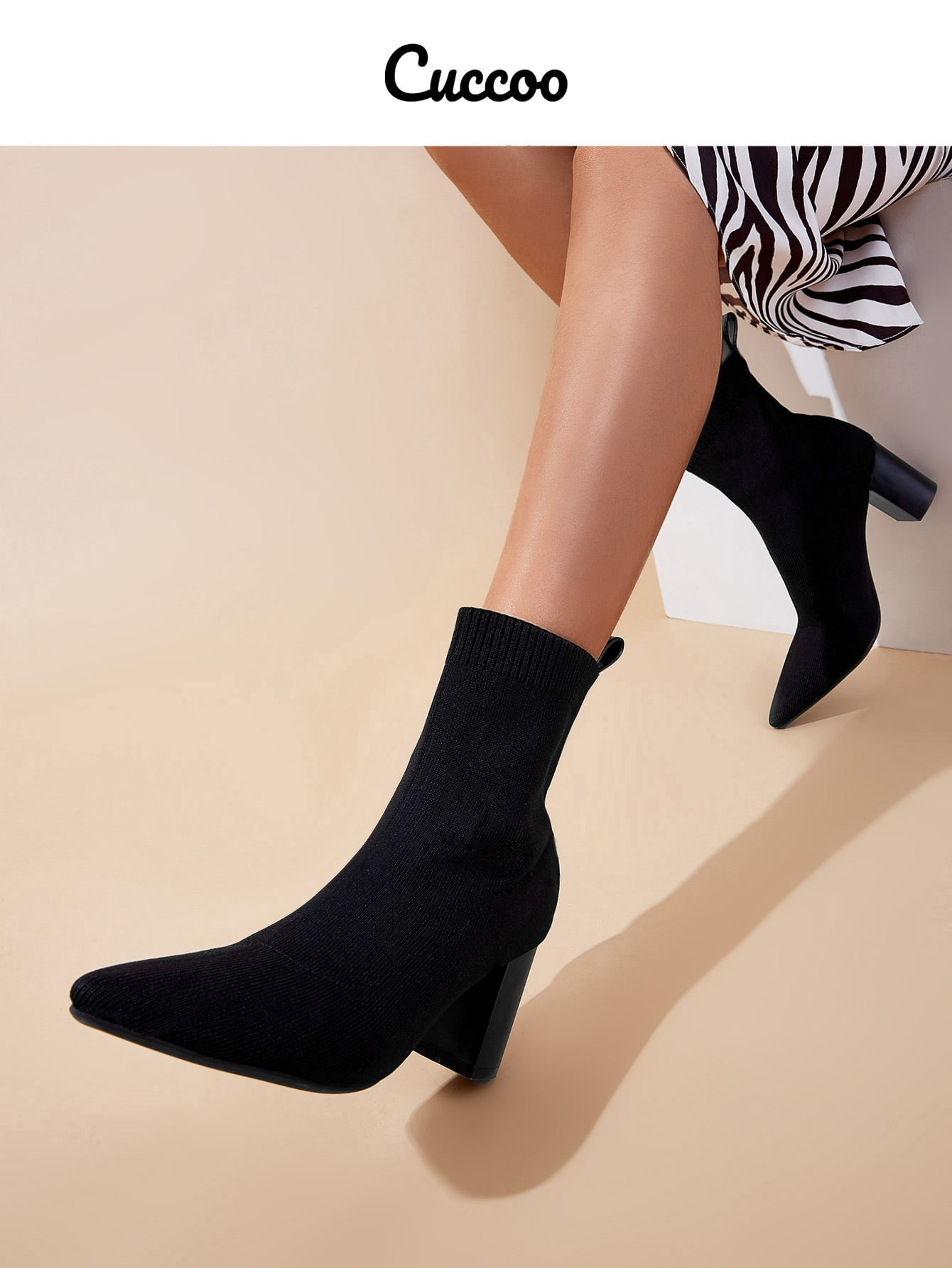 Point Toe Stretch Boots