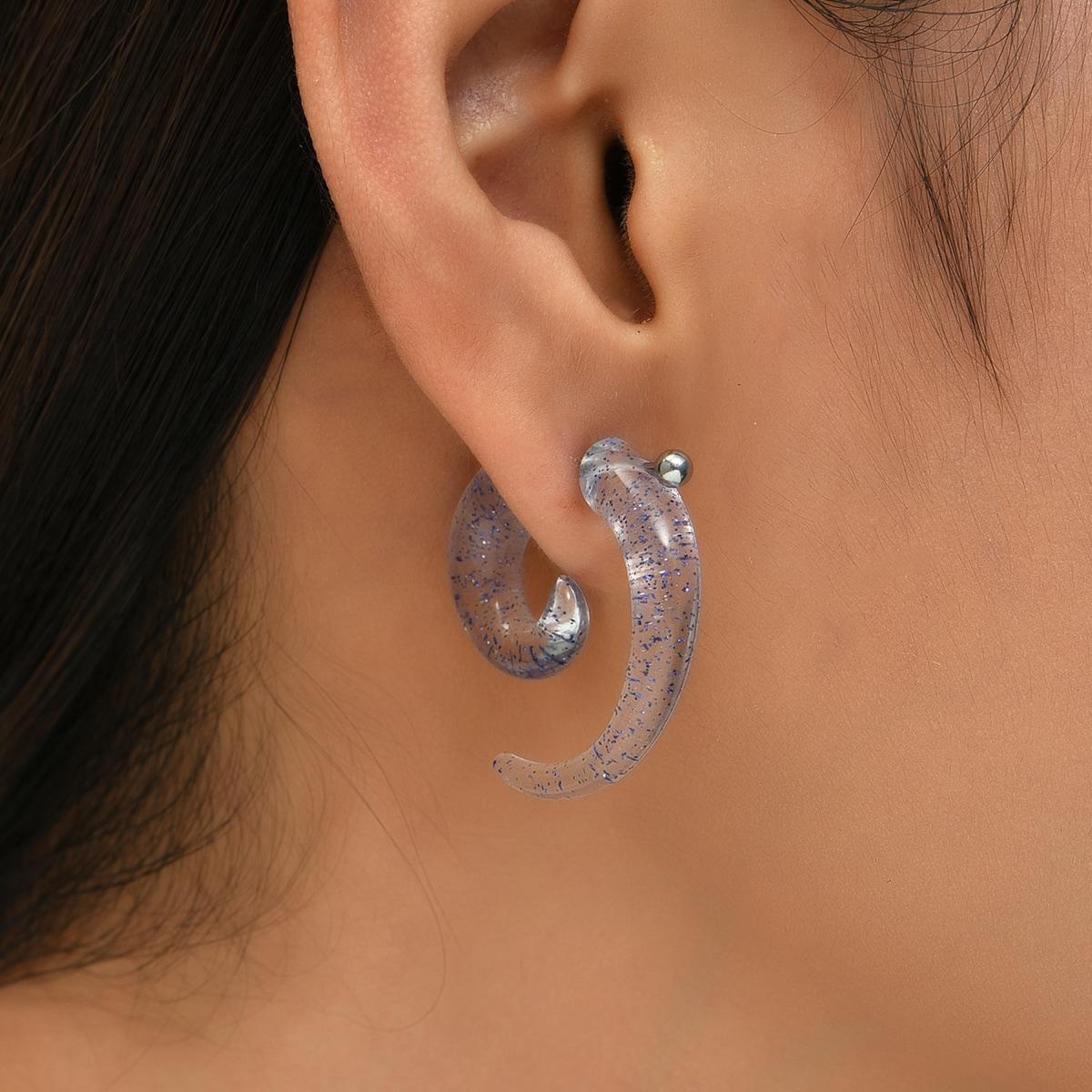 1pair Acrylic Ear Expander