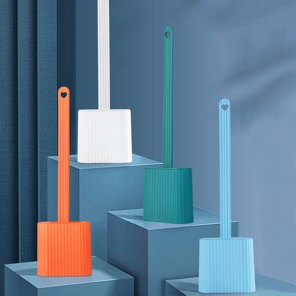 1set Random Color Closestool Cleaning Brush, Multicolor