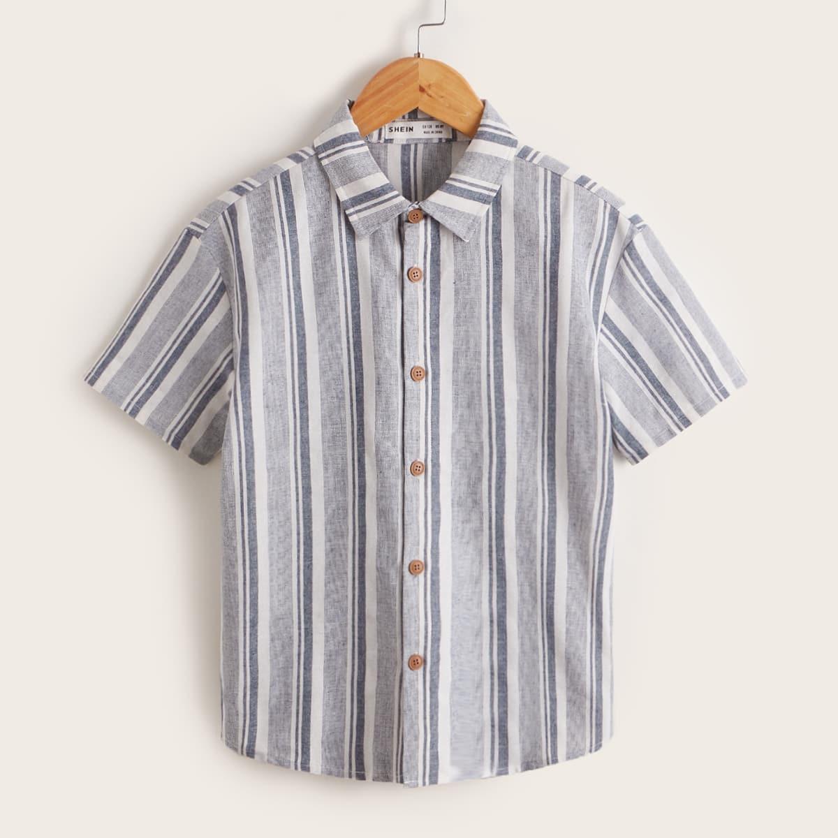 для мальчиков Рубашка в полоску