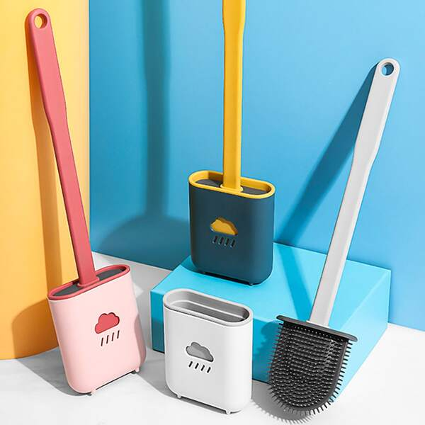 1set Random Closestool Cleaning Brush, Multicolor
