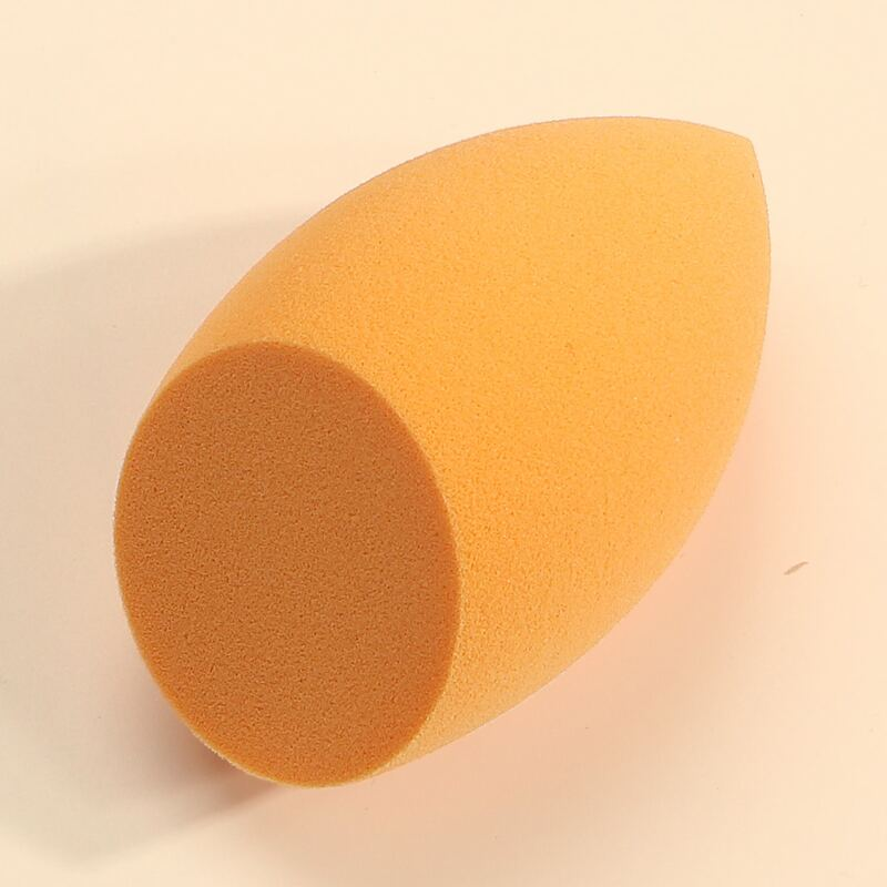 1pc Makeup Sponge, Orange
