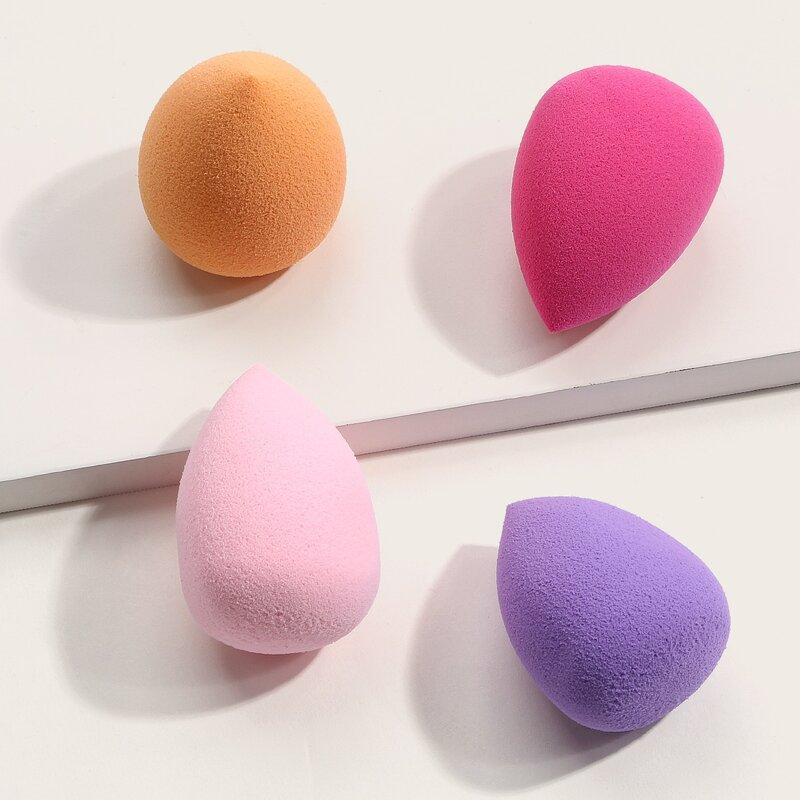 4pcs Makeup Sponge Set, Multicolor
