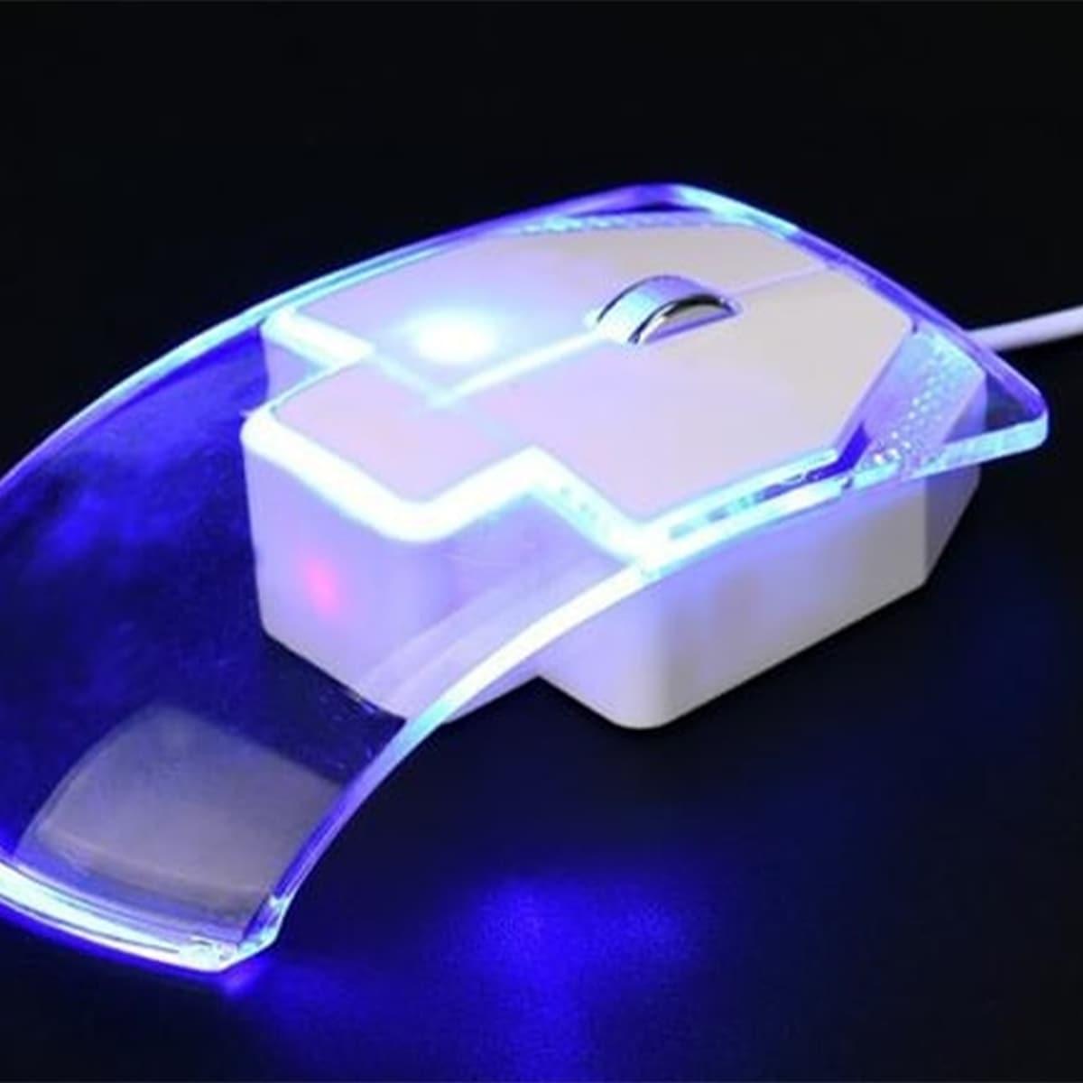 Проводная мышь светящийся