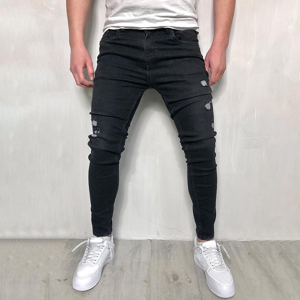 Рваные джинсы для мужчины