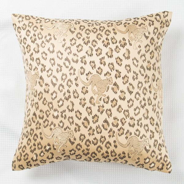 Leopard Print Cushion Cover Without Filler, Multicolor
