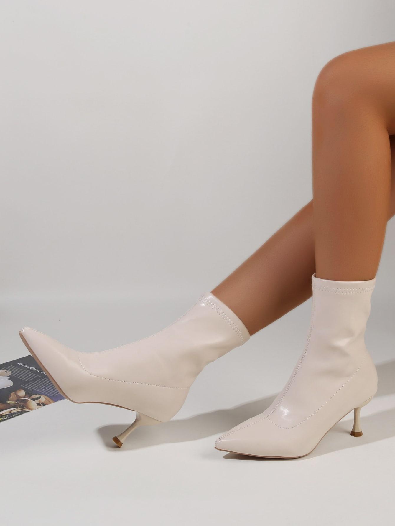 Point Toe Stiletto Boots