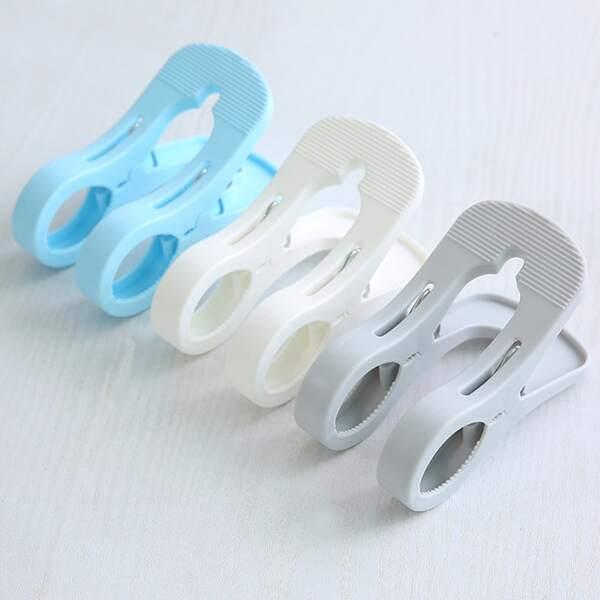 1pc Random Color Windproof Clothespin, Multicolor
