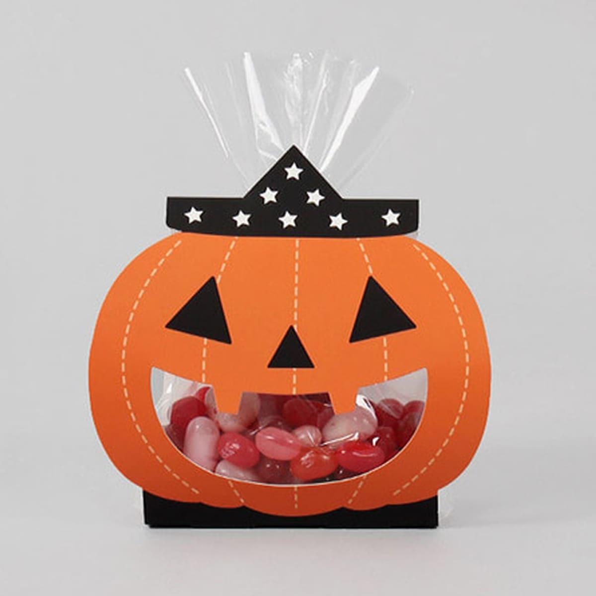 8шт Коробка для конфет на хэллоуин в форме тыквы
