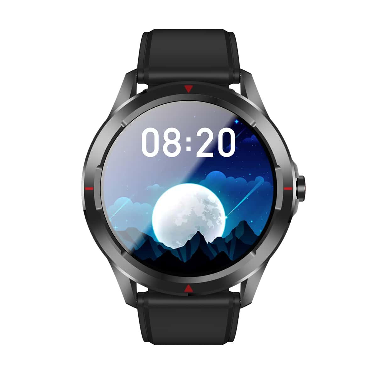 Смарт-часы с монитором сердечного ритма и фитнес-трекером