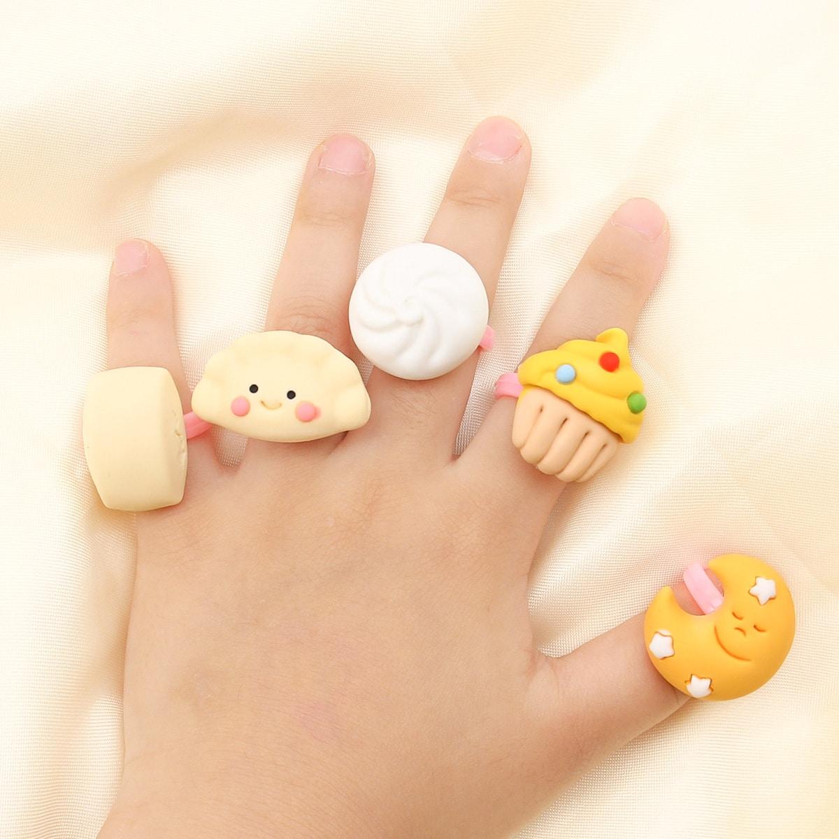 5шт Кольцо для девочек