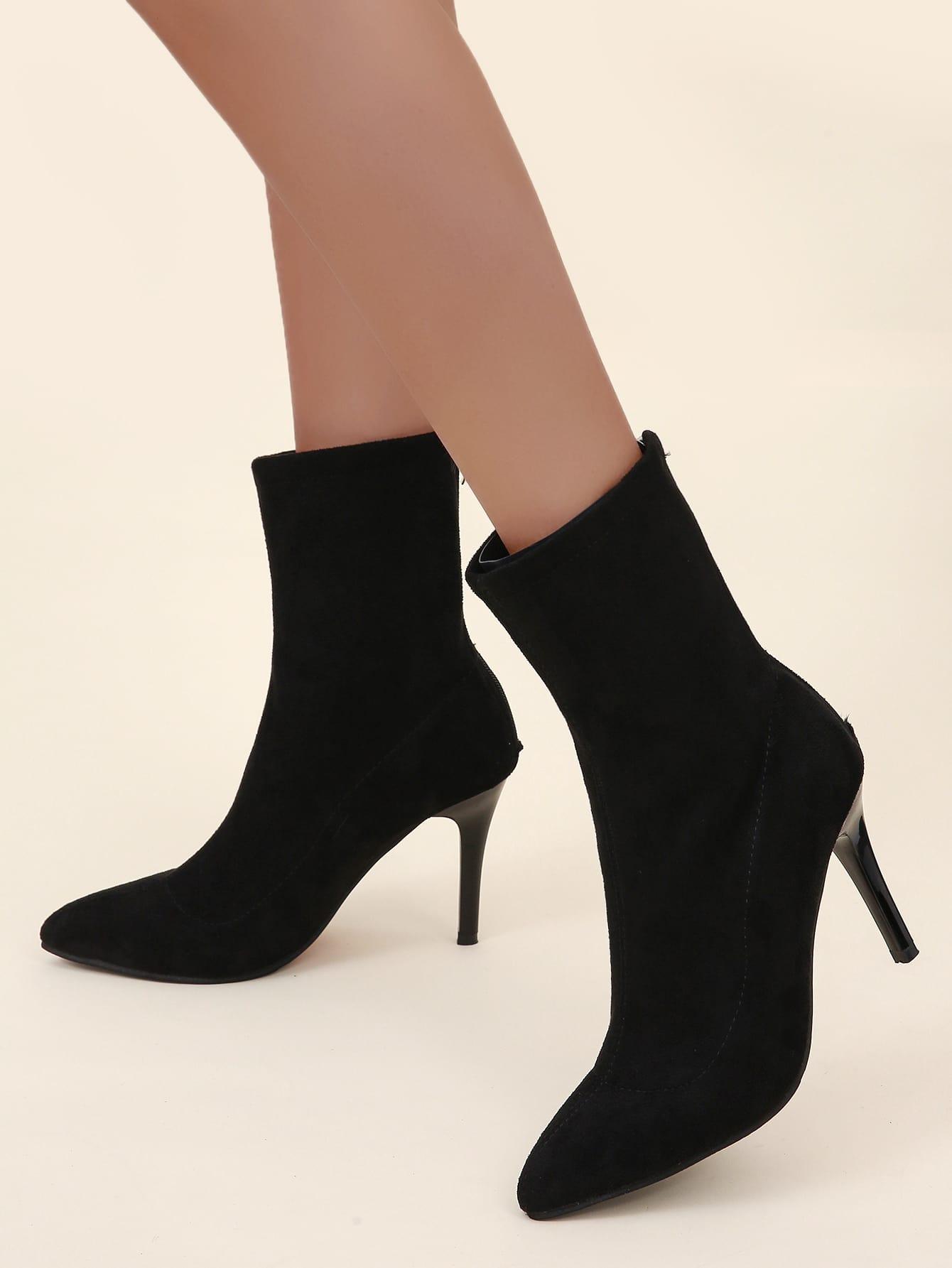 Point Toe Stiletto Classic Boots