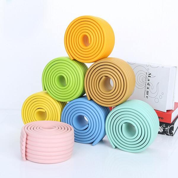 1pc Plain Random Color Table Corner Protector, Multicolor
