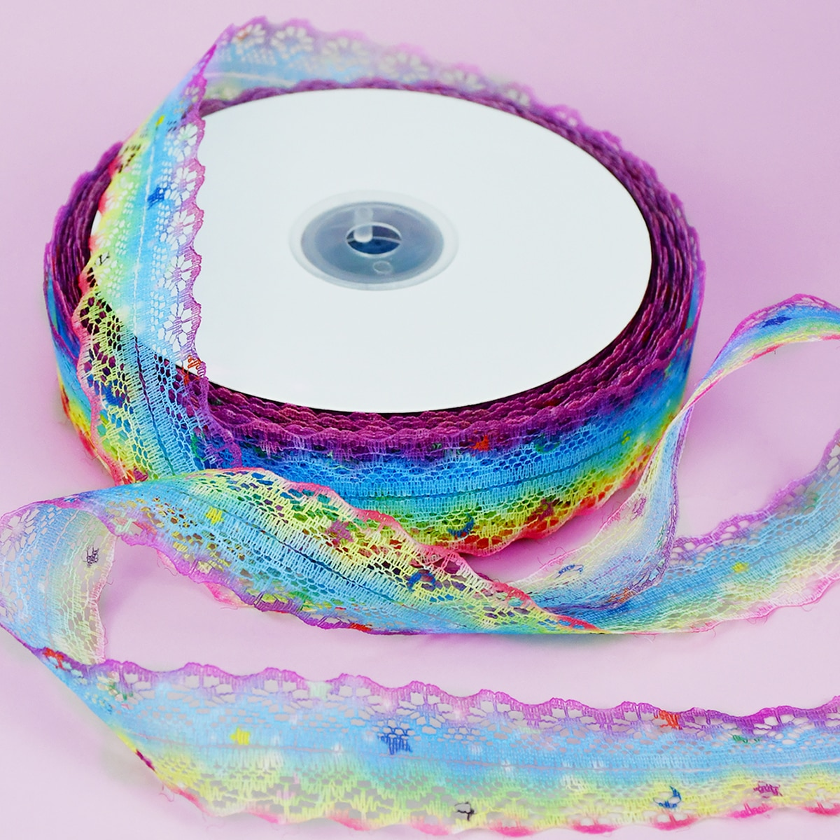 1roll Lace Decoration Ribbon, SHEIN  - buy with discount