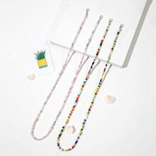 2pcs Beaded Face Mask Chain
