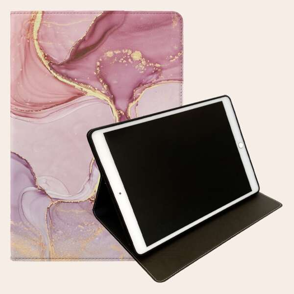Marble Pattern Case For iPad, Multicolor