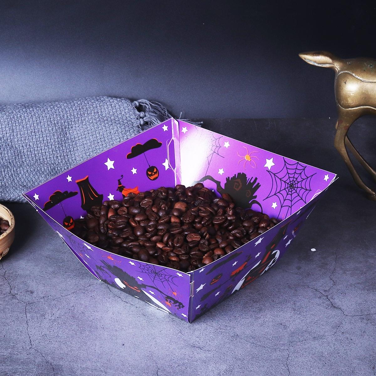12шт Лоток на хэллоуин для конфет