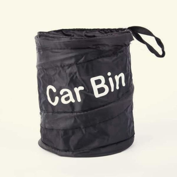 Car Trash Can, Black
