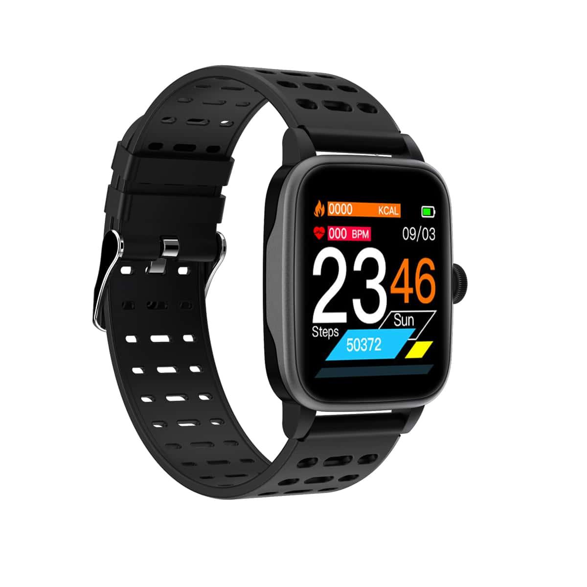 Смарт-часы с монитором сердечного ритма & фитнес-трекером