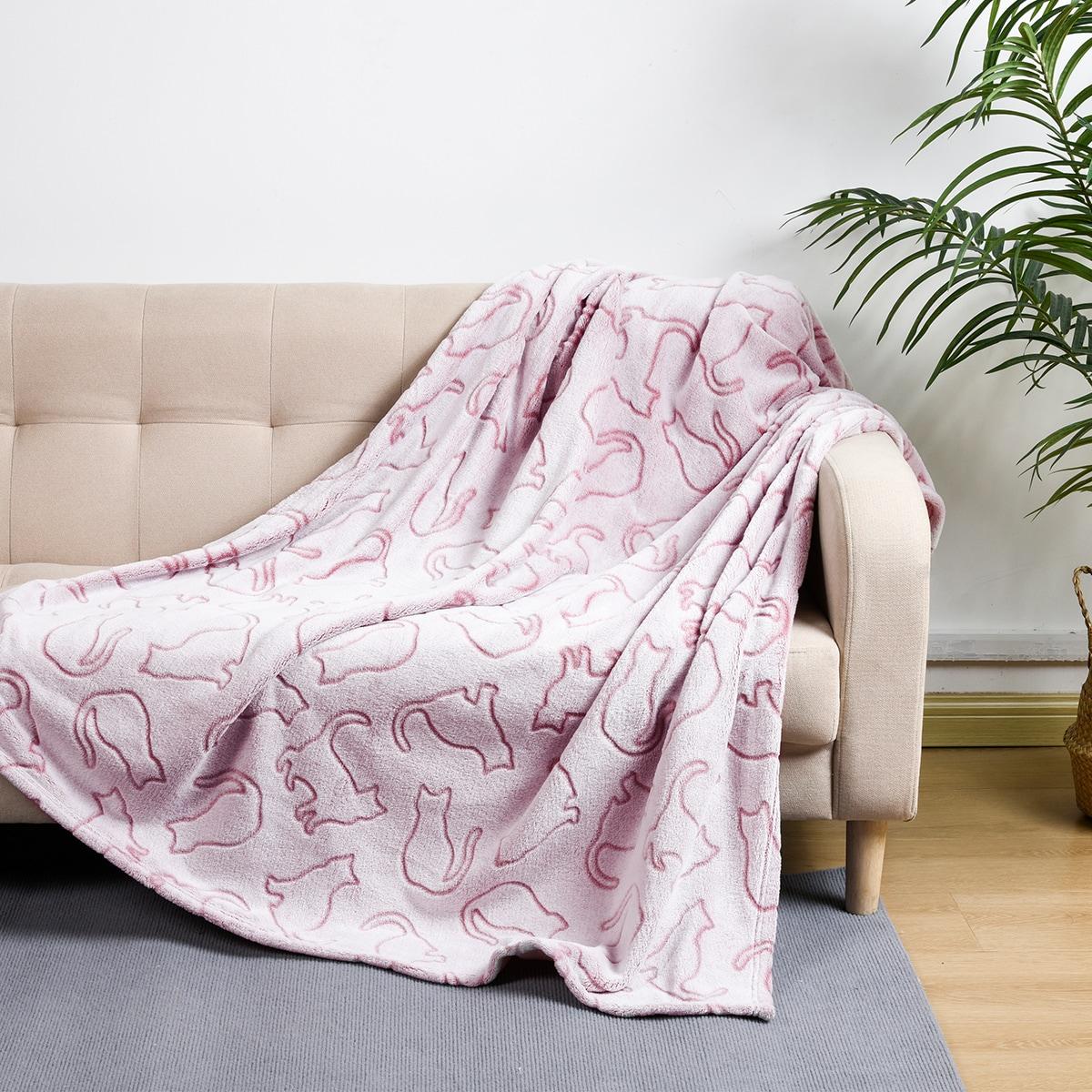 Cat Pattern Blanket