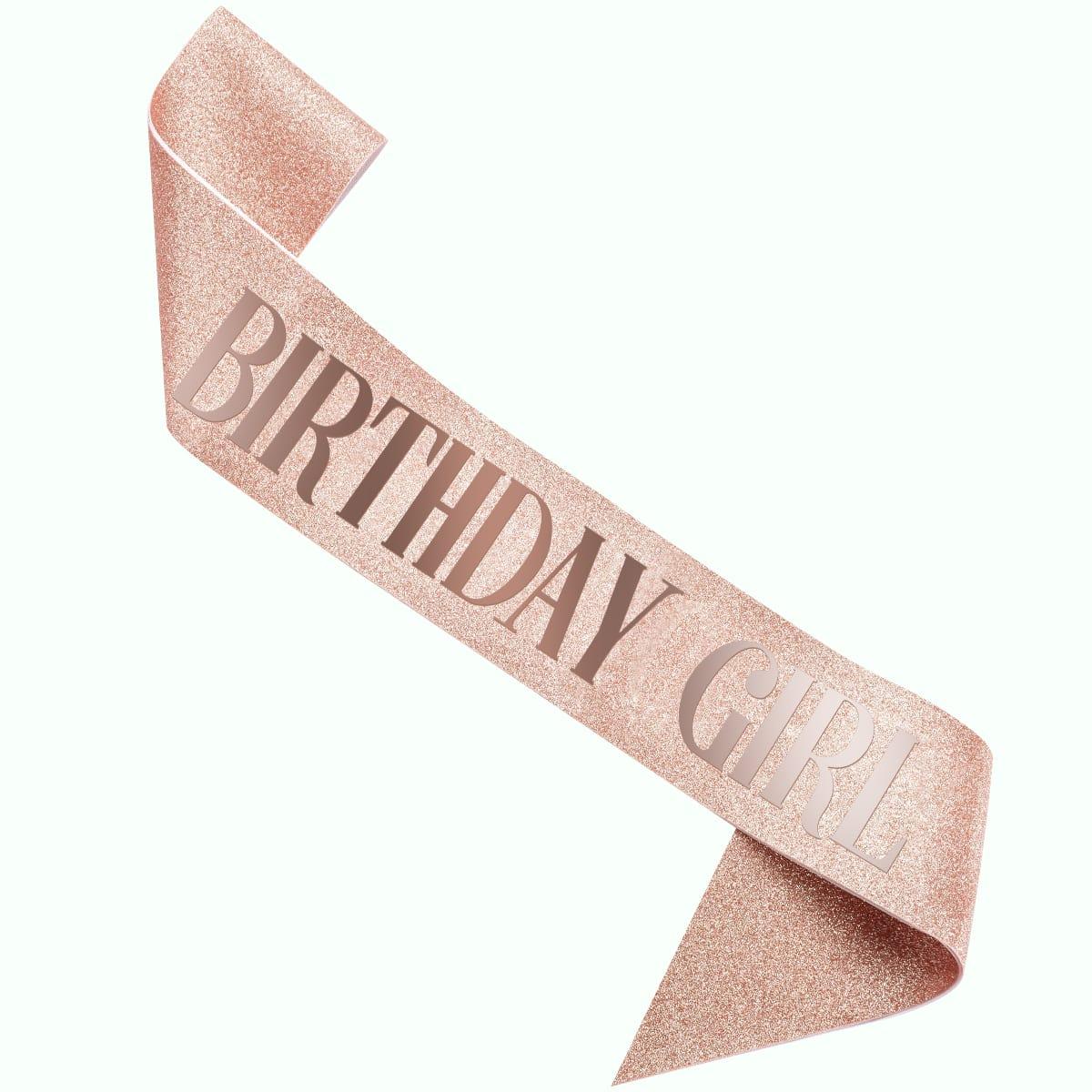 Кушак на день рождения с текстовым принтом